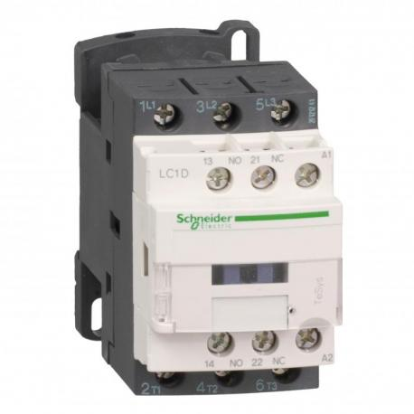 Stycznik mocy TeSys D AC3 9A 3P 1NO 1NC cewka 24VDC niski pobór zaciski śrubowe
