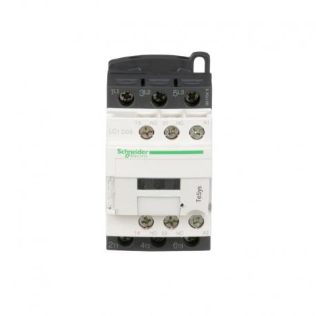 Stycznik mocy TeSys D AC3 9A 3P 1NO 1NC cewka 24VAC zaciski śrubowe