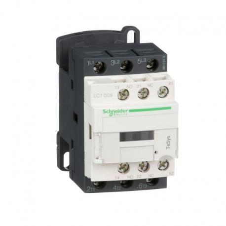 Stycznik mocy TeSys D AC3 9A 3P 1NO 1NC cewka 110VAC zaciski skrzynkowe