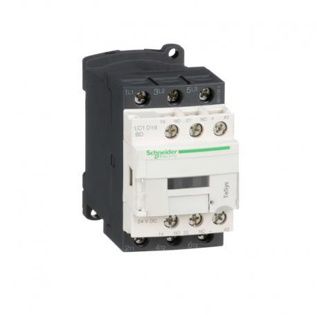 Stycznik mocy TeSys D AC3 32A 4P 2NO 2NC cewka 24VDC