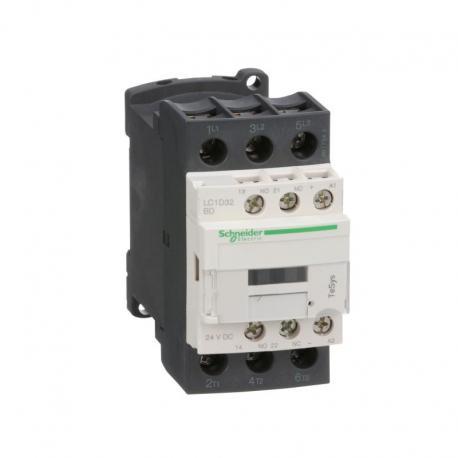 Stycznik mocy TeSys D AC3 32A 3P 1NO 1NC cewka 24VDC zaciski skrzynkowe