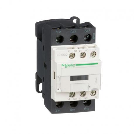 Stycznik mocy TeSys D AC3 32A 3P 1NO 1NC cewka 24VAC zaciski skrzynkowe