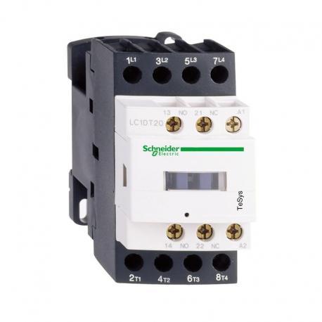 Stycznik mocy TeSys D AC3 20A 4P 2NO 2NC cewka 24VDC zaciski śrubowe