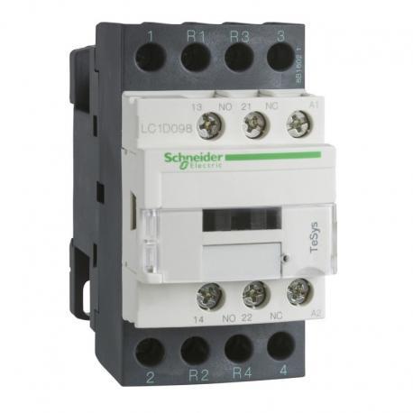 Stycznik mocy TeSys D AC3 20A 4P 2NO 2NC cewka 24VAC zaciski śrubowe