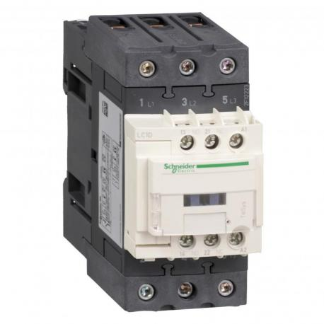 Stycznik mocy TeSys D 65A 30kW 3P 1NO 1NC cewka 400VAC zaciski EVK skrzynkowe