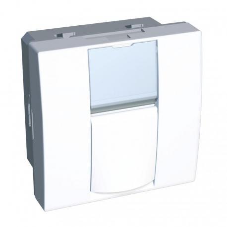 Altira - gniazdo komputer. - 1 gniazdo - Actassi S-one-kat.5 - UTP -biel polarna