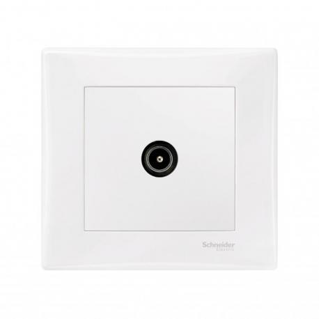 Sedna - Gniazdo TV końcowe (1dB) (DIY) biały