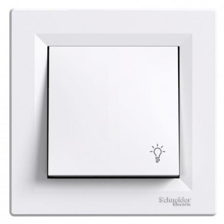 Asfora - Przycisk światło biały