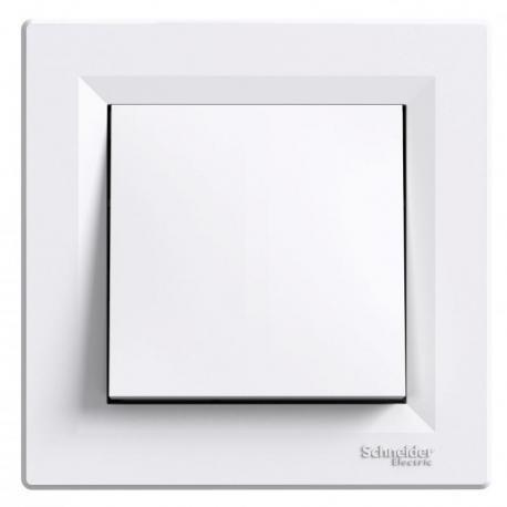 Asfora - Przycisk (zaciski śrubowe) biały