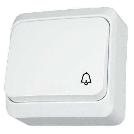Prima - Przycisk dzwonek biały
