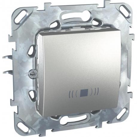 Unica Top - Przycisk dzwonek aluminium