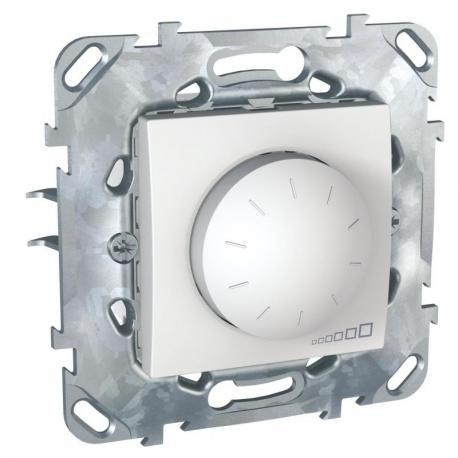 Unica - Ściemniacz przyciskowo-obrotowy 40-400VA