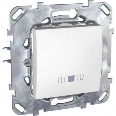 Unica - Przycisk dzwonek biel polarna