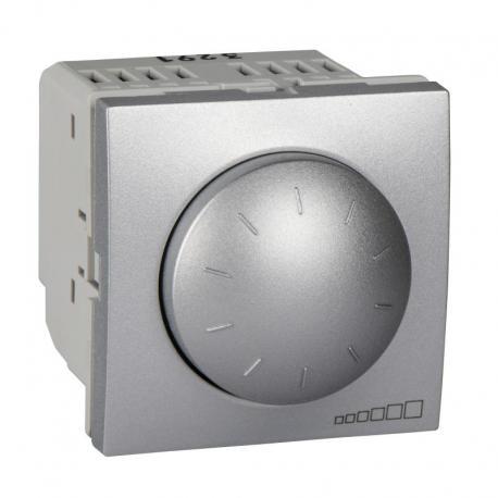 Altira - ściemniacz z regulacją obrot. - 400VA dla świetlówek 1-10V - aluminium