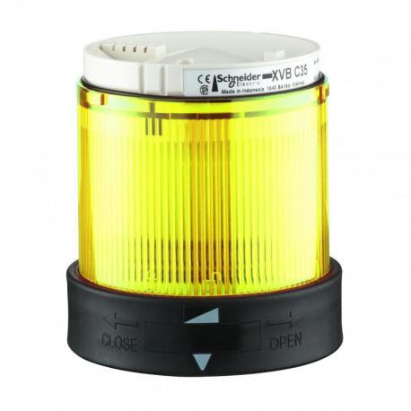 Element świetlny 70 żółty światło ciągłe LED 24V AC/DC