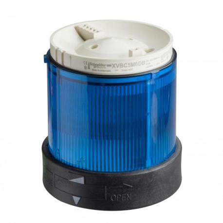 Element świetlny 70 niebieski światło ciągłe LED 24V AC/DC