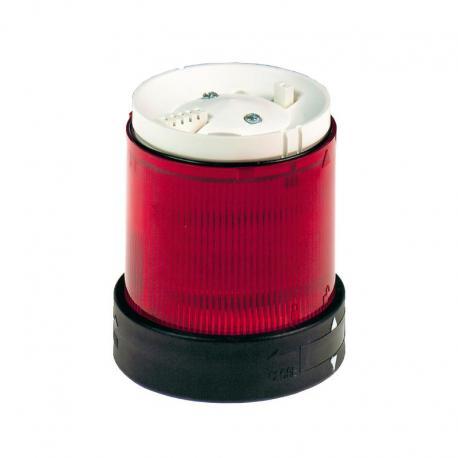 Element świetlny z filtrem rozpraszającym 70 czerwony ciągły LED 24V AC/DC