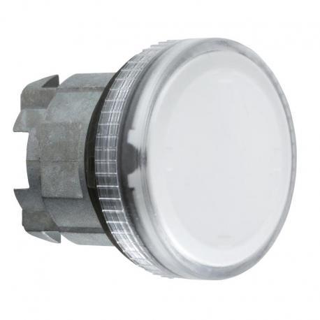 Lampka sygnalizacyjna przeźroczysta żarówka BA 9s metalowa karbowana