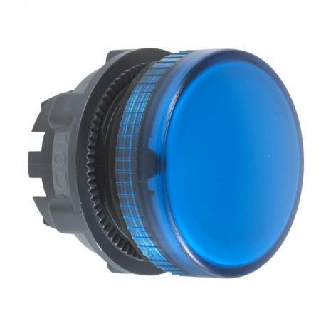 Lampka sygnalizacyjna niebieska żarówka BA 9s plastikowa typowa