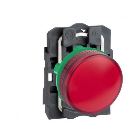 Lampka sygnalizacyjna czerwona żarówka 250V plastikowa typowa
