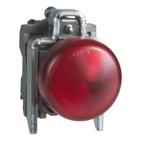 Lampka sygnalizacyjna czerwona żarówka 250V metalowy typowa