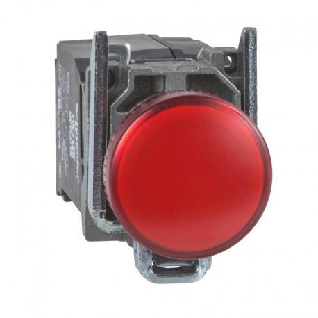 Lampka sygnalizacyjna czerwona żarówka 110-120V metalowy typowa