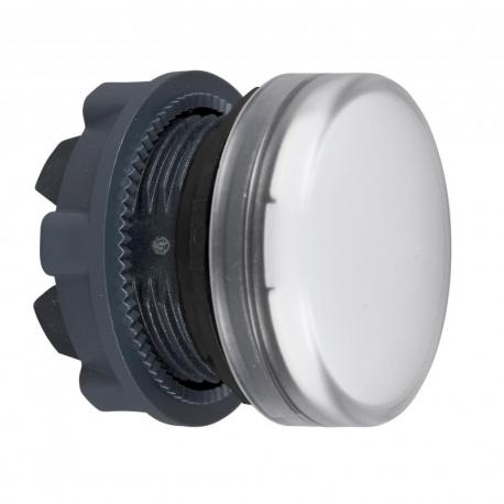 Lampka sygnalizacyjna biała żarówka BA 9s plastikowa typowa