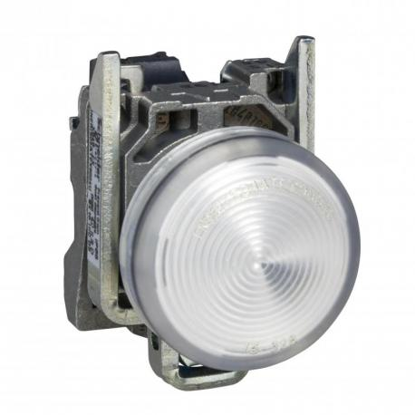 Lampka sygnalizacyjna biała żarówka 250V metalowy typowa