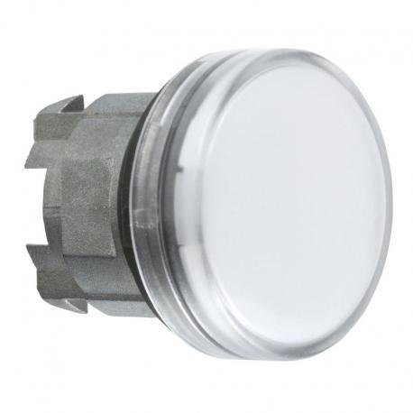 Lampka sygnalizacyjna 22 biała żarówka BA 9s metalowa typowa