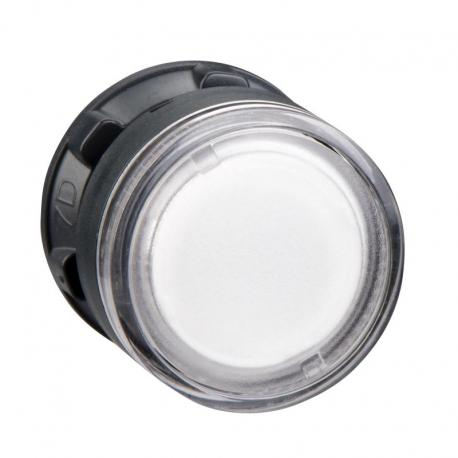 Przycisk płaski przeźroczysty samopowrotny żarówka BA 9s plastikowy typowa