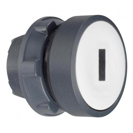 Przycisk płaski biały żarówka BA 9s plastikowy typowa bez oznaczenia