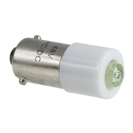 Żarówka sygnalizacyjna przezroczysta BA 9s 48V 2.6W