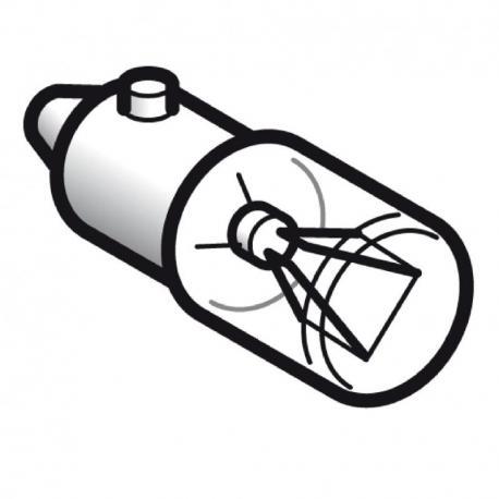 Żarówka sygnalizacyjna przezroczysta BA 9s 12V 2.6W