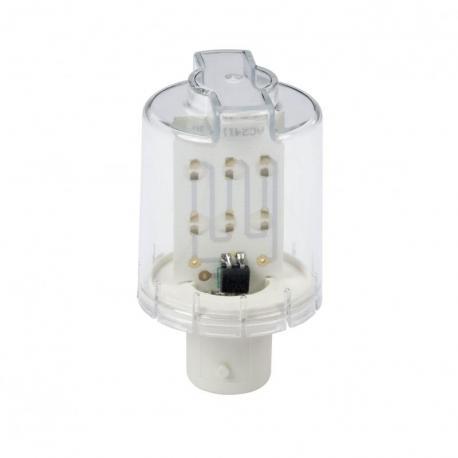 Żarówka LED, czerwona, bardzo jasna, 24V