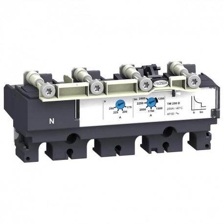 Zabezpieczenie termomagnetyczne TMD do wyłącznika Compact NSX160 125A 4P 3D