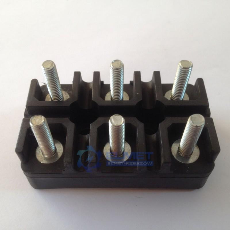 Tabliczka zaciskowa 6 x M5 do 3Sg