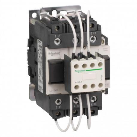 Stycznik TeSys LC1-DW - 3 bieguny - 400...440V 60 kVAr - cewka 380 V AC