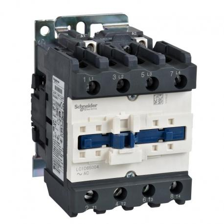 Stycznik TeSys LC1-D - 4 bieguny - AC-1 440V 80 A - napięcie cewki 230 V AC