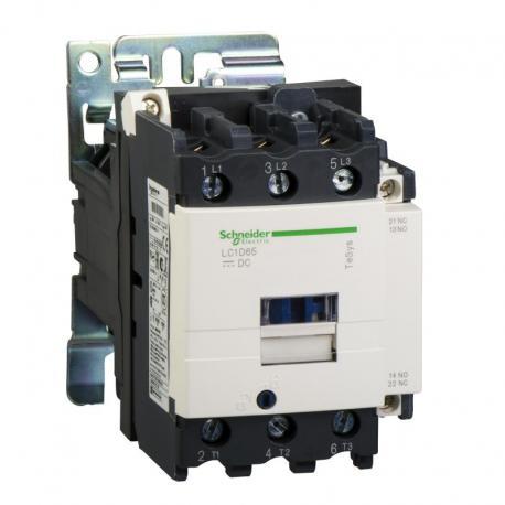 stycznik TeSys LC1-D - 3 bieguny - AC-3 440V 65 A - napięcie cewki 24 V DC