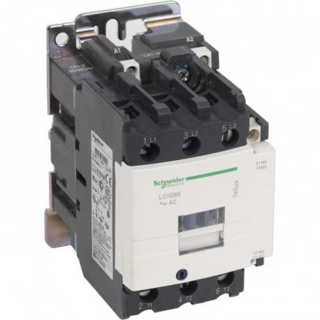 stycznik TeSys LC1-D - 3 bieguny - AC-3 440V 65 A - napięcie cewki 24 V AC