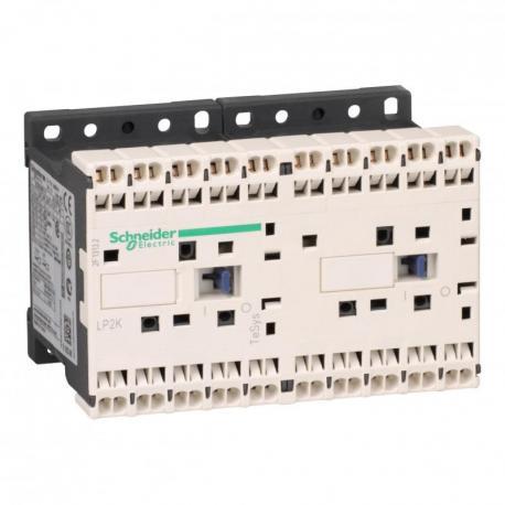 Stycznik nawrotny TeSys K 6A 3P 1NC cewka 24VDC zaciski sprężynowe