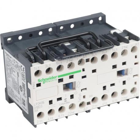 Stycznik nawrotny TeSys K 6A 3P 1NC cewka 24VDC zaciski skrzynkowe