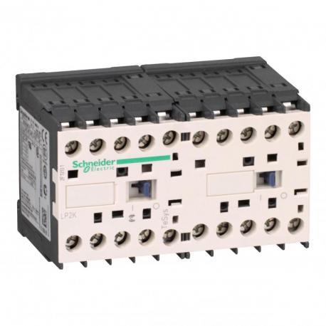 Stycznik nawrotny TeSys K 6A 3P 1NC cewka 24VDC nóżki lutownicze