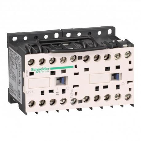 Stycznik nawrotny TeSys K 6A 3P 1NC cewka 220VDC zaciski skrzynkowe