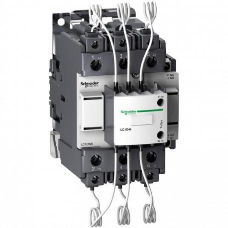 Stycznik do baterii kondensatorów TeSys D 60kvar 3P cewka 400VAC