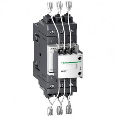 Stycznik do baterii kondensatorów TeSys D 40kvar 3P cewka 230VAC