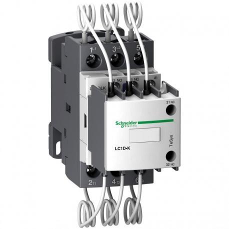 Stycznik do baterii kondensatorów TeSys D 20 kvar 3P cewka 230VAC