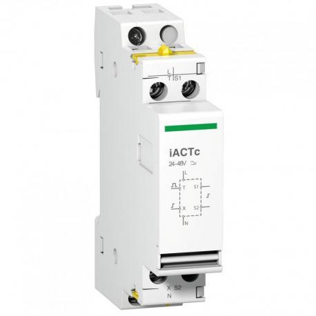 Rozszerzenie do stycznika iCT iACTc-24 sterowanie impulsowe/ciągłe 24-48 VAC