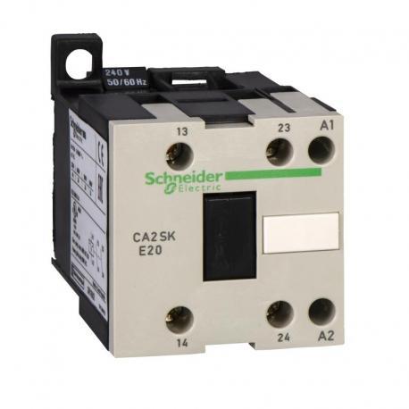 Miniaturowy stycznik pomocniczy TeSys SK 1NO 1NC cewka 24VDC zaciski skrzynkowe
