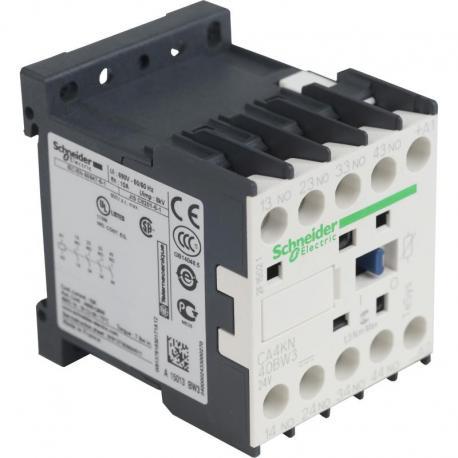 Miniaturowy stycznik pomocniczy TeSys K 4NO cewka 24VDC zaciski skrzynkowe